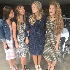 Modest Fashion Ideas - Tori, Carlin, Erin Paine, and Josie Bates. Modest Outfits, Modest Fashion, Girl Fashion, Cute Outfits, Fashion Looks, Fashion Ideas, Teen Outfits, Modest Clothing, Ladies Fashion