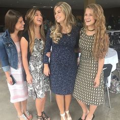 Modest Fashion Ideas - Tori, Carlin, Erin Paine, and Josie Bates.