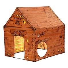 Have to have it. Pacific Play Tents Club House Tent - $78.99 @hayneedle