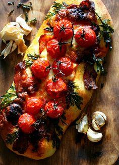 Bacon & Tomato Focaccia