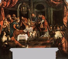 The Circumcision by @arttintoretto #mannerism