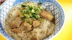 pork cartilage rice vermicelli | Taiwanese cuisine