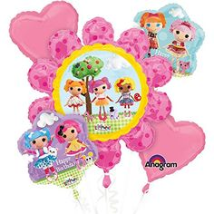 Anagram International Lalaloopsy Birthday Bouquet Multicolor * More info could be found at the image url.