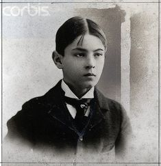 Rudolph Valentino as a boy