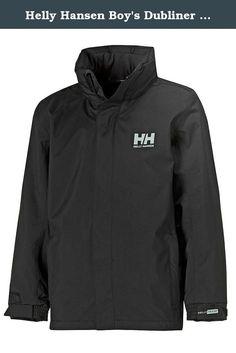 new arrival 9c05a fc544 Helly Hansen Boy s Dubliner Jacket, Black, 14. Great fitting,  versatileHelly Techjacket.