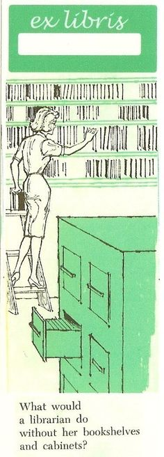 librarian bookplates on Etsy, Sold