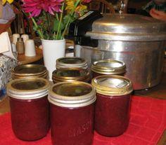 EASY no pectin jam. This year: plum!