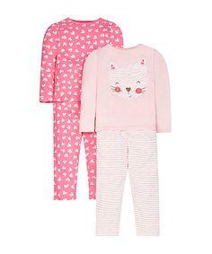 Sketchy Cat Pyjamas - 2 Pack