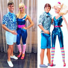 Barbie and Ken Toy Story 3 Halloween Costume