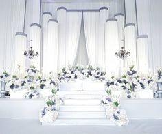 Wedding Backdrop Design, Wedding Hall Decorations, Wedding Reception Backdrop, Wedding Mandap, Wedding Table, Table Decorations, Wedding Designs, Wedding Styles, Wedding Ideas
