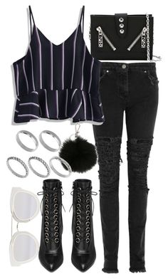"""Untitled #2157"" by eleanorwearsthat ❤ liked on Polyvore featuring Kenzo, Christopher Kane, Chicwish, Yves Saint Laurent, Christian Dior, MICHAEL Michael Kors and ASOS"