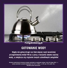 NIE POPEŁNIAJ TEGO BŁĘDU GOTUJĄC WODĘ NA HERBATĘ! Good Advice, Healthy Drinks, Household, Remedies, Tips, Home Remedies, Lifehacks, Quality Quotes, Counseling