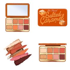 Makeup News, Cute Makeup, Eyeshadow Palette, Gingerbread, Caramel, Blush, Make Up, Mini, Face