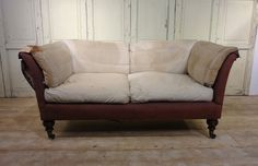 Mid 19thC Baring Howard and Sons Sofa - Stock - Dean Antiques Ltd, core one, Fulham, london