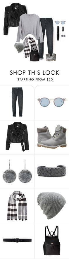"""""""Are you happy or just really comfortable?"""" by grownuppaperdolls ❤ liked on Polyvore featuring STELLA McCARTNEY, Thom Browne, Vetements, Timberland, Dyrberg/Kern, Bottega Veneta, Burberry, Coal, Ann Demeulemeester and Dolce&Gabbana"""