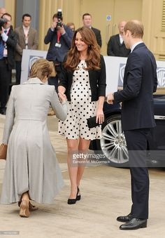 Prince William, Duke of Cambridge and Catherine, Duchess of Cambridge attend the Inauguration Of Warner Bros. Studios Leavesdenon on April 26, 2013 in Hertfordshire, England.