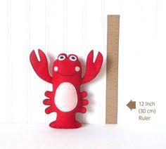 50% Off Lobster Sewing Pattern Stuffed Lobster Pattern