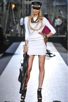 dsquared2 ss13 - black and white turns badass! :D