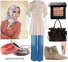 """Casual Day"" by jamericanmuslimah on Polyvore"