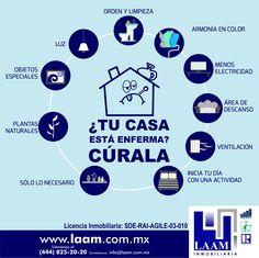 Poner especial atención en diversos aspectos es muy importante para que tu casa no enferme y con esto no decaiga y se devalúe...