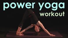 Free Full Power Yoga Workout on Youtube! Sweaty, Soulful Flow