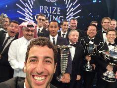 Daniel Ricciardo #FIAPrizeGiving