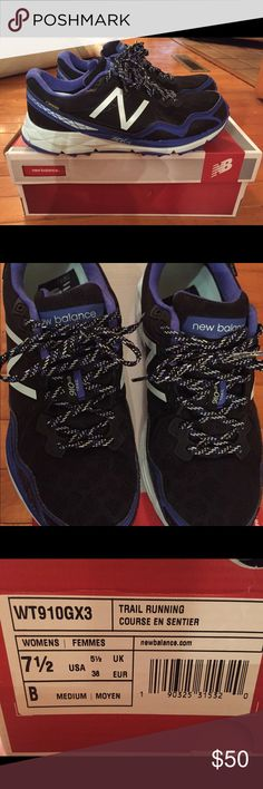 Brand new pair of trail running shoes Super cute New Balance trail runners New Balance Shoes Athletic Shoes