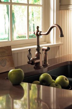 Danze Bordeaux single handle kitchen faucet