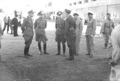 NAZI JERMAN: Foto Erwin Rommel Sebagai Panglima Afrikakorps.