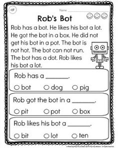 UD CVC Word Family Worksheets -Make a word family book! | Pinterest ...