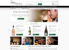 Wine Palate web design by Adeo Group  #webdesign  http://www.winepalate.co.uk/