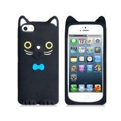 Toonish Black Cat iPhone 5 case