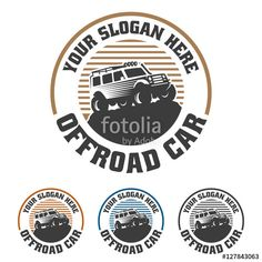 Vector Off Road Car Logo Offroad Logo Suv Car Logo Template