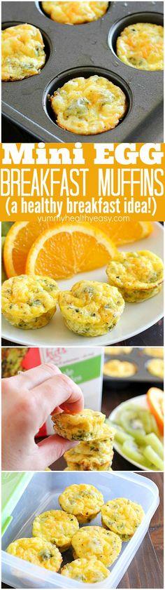 Mini Egg Breakfast Muffins
