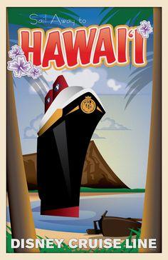 Disney Cruise Line Doubles the 'Aloha' with Second Hawaiian Cruise.  I can help you plan this adventure - Jenn@thewdwguru.com