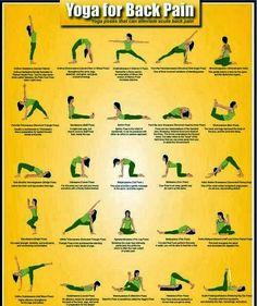 Back Pain: 20 Yoga Poses for Backache
