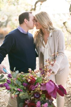 Follow Along as this Blogger Bride Shares Her #WeddingPlanning Journey on Style Me Pretty {click here: http://www.stylemepretty.com/2013/12/04/smps-blogger-bride-devon-rachels-engagement-session } Photography: Jana Williams Photography   @Devon Rachel