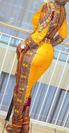 WOW!!! African print dashiki suit by TMFashionaccessories  ~African fashion, Ankara, kitenge, African women dresses, African prints, Braids, Nigerian wedding, Ghanaian fashion, African wedding ~DKK