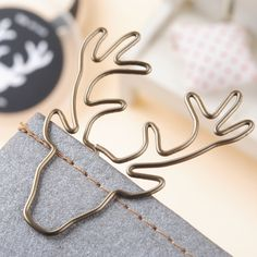 Aliexpress.com : Buy 8PCS/Lot Vintage Deer Clip Metal Paper Clips Bookmark Pin Karea Stationery Cinnamon Office Accessories Memo Clips from Reliable clip factory suppliers on tobuy