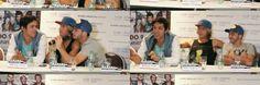 Hermosos en la conferencia de prensa  @pachu @agus casanova  @pablangaaaas♥♥♥♥♥♥♥