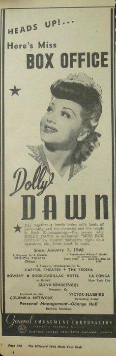 Dolly Dawn, 1943