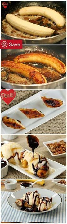 DIY Delicious Spatula: Brown Butter Banana Dessert #delicious #diy #Easy #food #love #recipe #tutorial #yummy #delicious #diy #Easy #food #love #recipe #tutorial #yummy Make sure to follow cause we post alot of food recipes and DIY  we post Food and drinks  gifts animals and pets and sometimes art and of course Diy and crafts films  garden  hair and beauty and make up  health and fitness and yes we do post women's fashion sometimes  and even wedding ideas  travel and sport  science and…