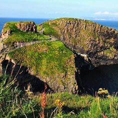 Crossing Carrick-a-Rede rope bridge may not be for the faint of heart- but it offers an experience you won't forget!