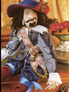 (9) Name: 'Sewing : Felix The Musketeer Cloth Doll