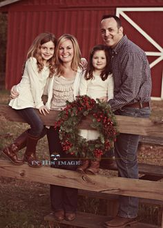 Rustic Christmas Session