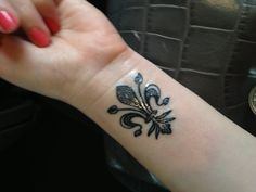 My Florentine fleur de lis tattoo <3. From sinners and saints in Baltimore