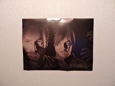 Walking Dead Daryl Dixon and Rick Grimes Poster Print by iAmRedTed