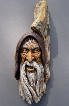 Wood Spirit from Suzys Woodcarvings