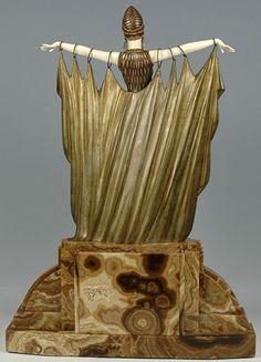 Demetre Chiparus - Art Déco - Sculpture 'Semiramis'