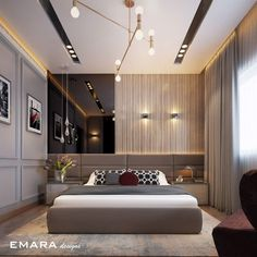 Indian Bedroom Design, Bedroom False Ceiling Design, Master Bedroom Interior, Bedroom Closet Design, Bedroom Furniture Design, Home Room Design, Bed Furniture, Modern Luxury Bedroom, Luxury Bedroom Design